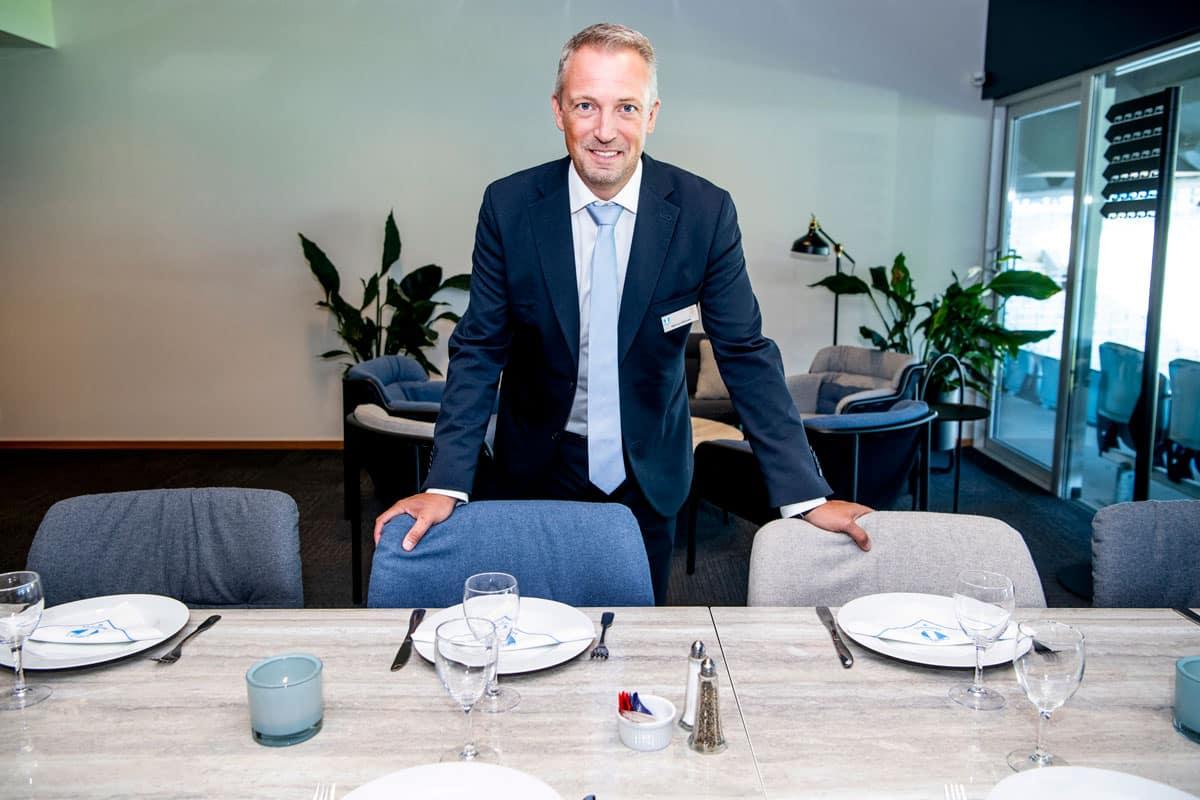 Marcus Lehtonen, Head of Food and Beverage för MFF Event AB