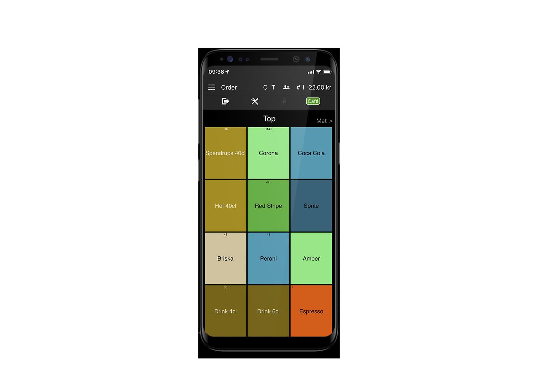 Trivec Mobile - Mobilt bestillingssystem