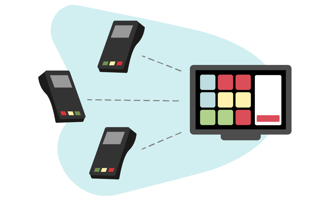 Connect many payment terminals